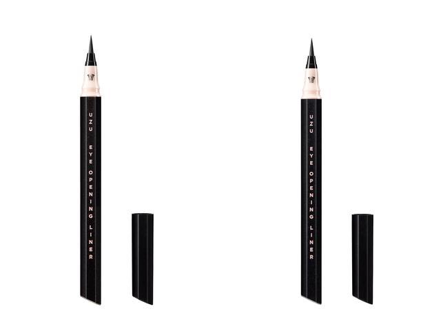 画像: UZU「アイオープニングライナー セブンシェイズ オブ ブラック」 左:メタリックブラック、右:プラチナムブラック 各1,500円(税抜)