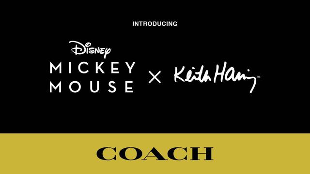 画像: Coach Introduces Disney Mickey Mouse x Keith Haring youtu.be