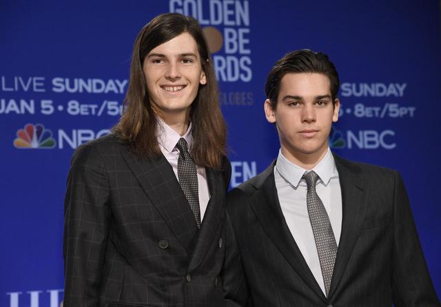 画像: ピアース・ブロスナンの息子であるディラン&パリス・ブロスナン