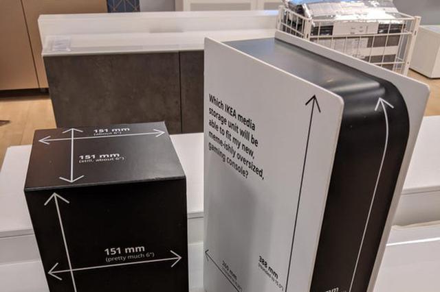 """画像2: IKEAのショールームにある""""謎の箱""""は一体なんのために?"""