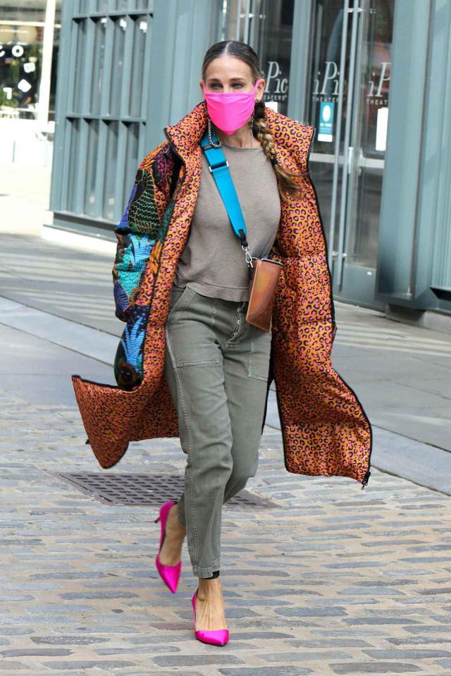 画像1: サラ・ジェシカ・パーカーの最新ストリートファッション