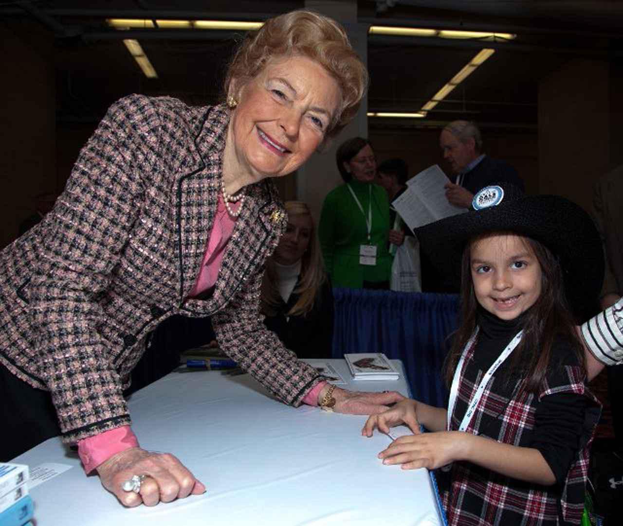 画像: 2011年のCPAC(保守政治活動協議会)に参加した際のフィリス・シュラフリー。