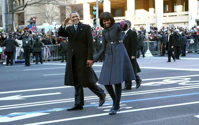 画像3: 大統領就任式のドレスは注目の的