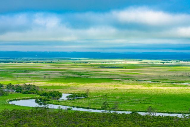 画像: 日本で初めてラムサール条約湿地として登録された、北海道の釧路湿原。