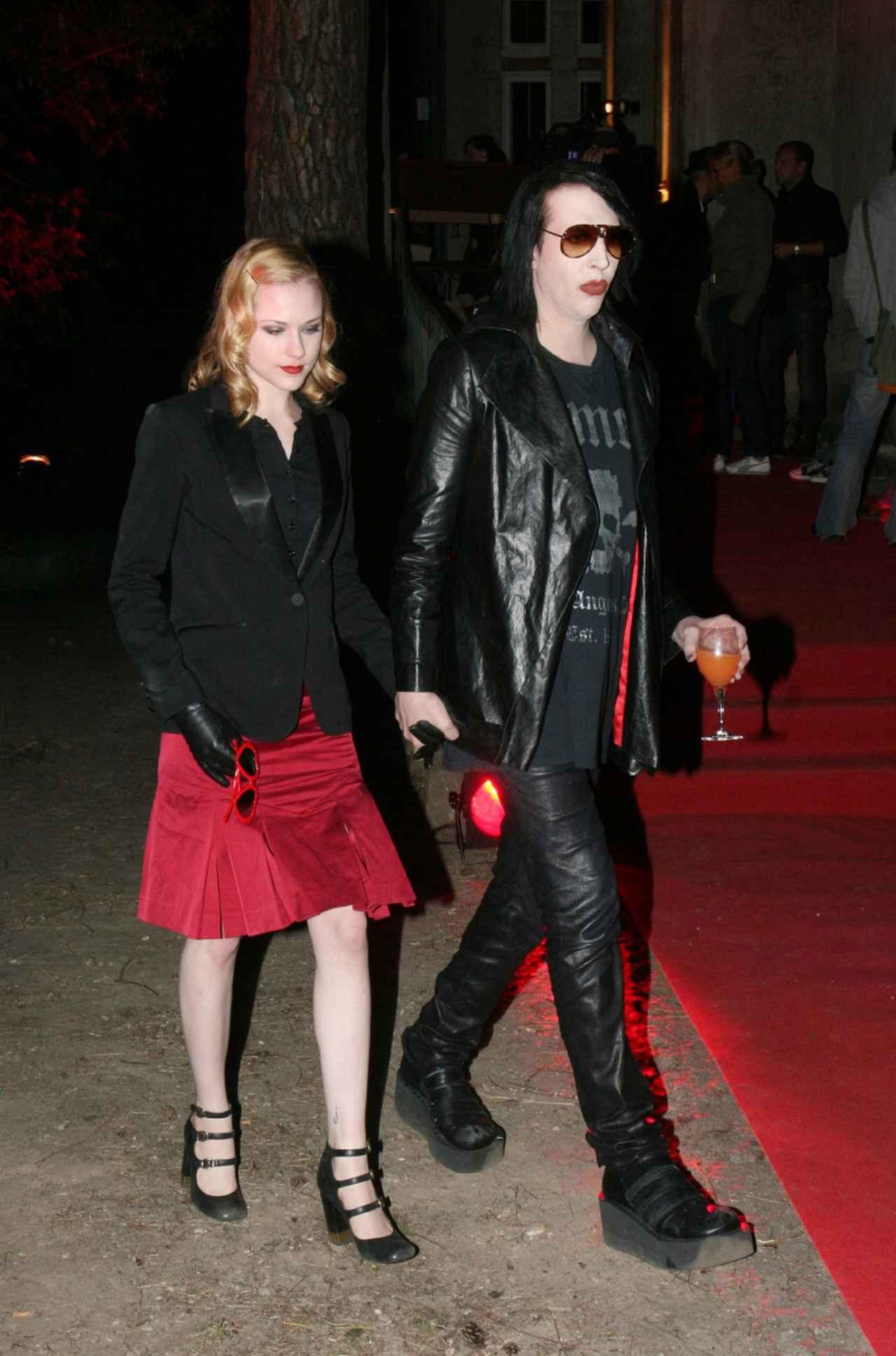 画像: 2007年交際当時のエヴァンとマリリン。