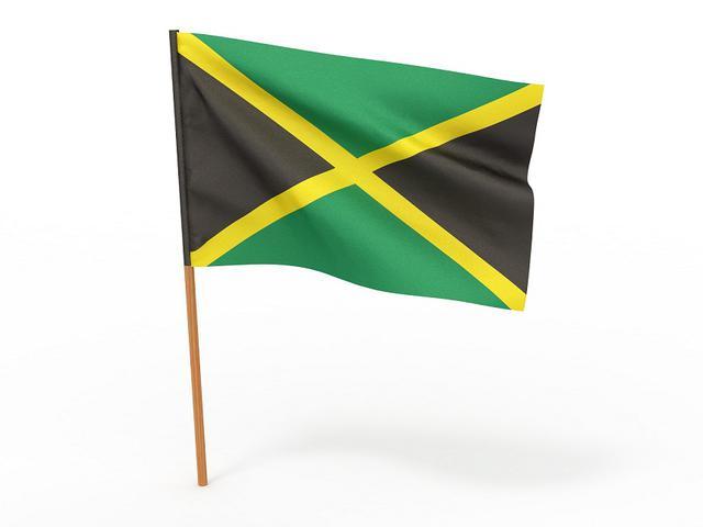 画像: ジャマイカ国旗に使われているそれぞれの色には深い意味があり、緑は「農業と希望」、黄色は「強い日差しと、豊かな天然資源」、そして黒は「国民の強さと創造性」を象徴している。