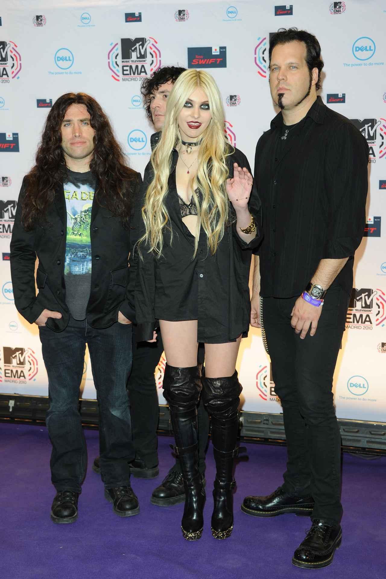 画像: 2010年に出席したMTVヨーロッパ・ミュージック・アワードにて。