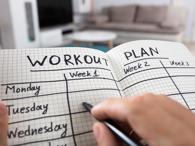 画像: 週に3回は運動を取り入れる