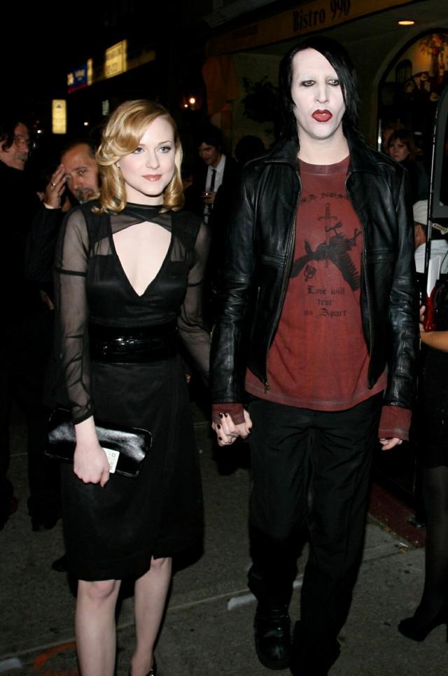 画像: 2007年、交際当時のエヴァンとマリリン。