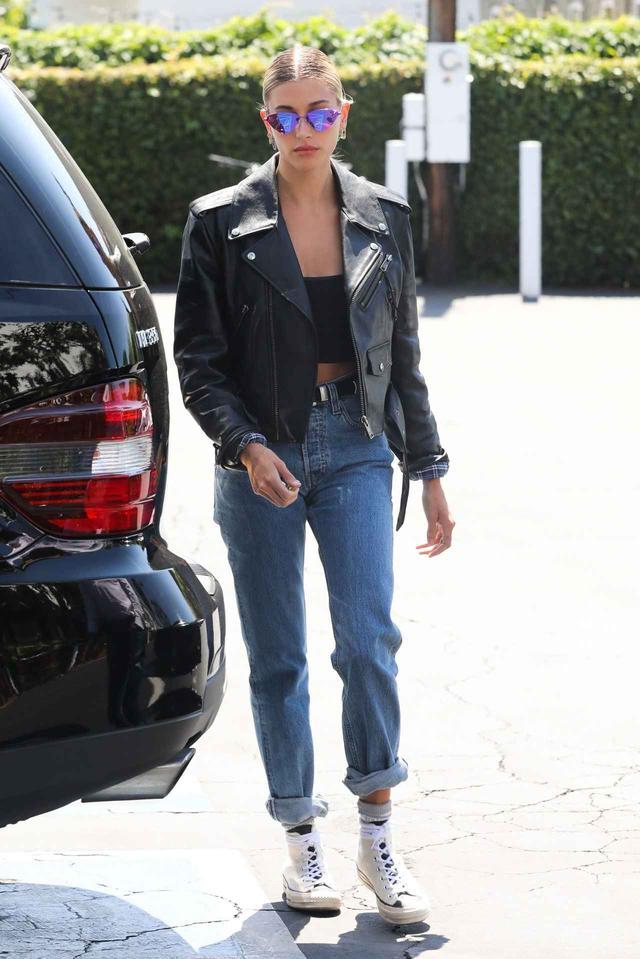 画像: 人気モデルのヘイリー・ビーバー