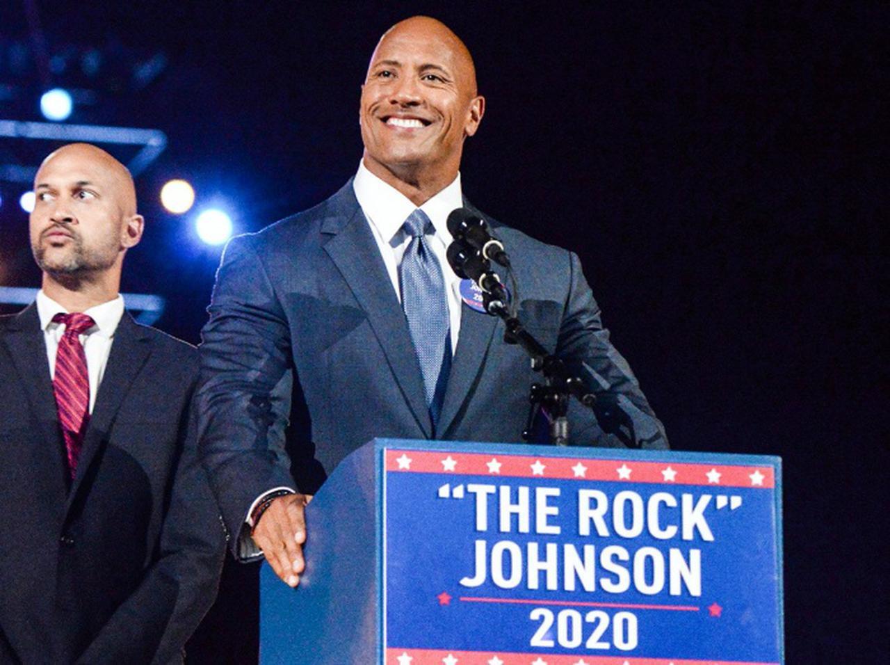 画像: ドウェイン・ジョンソンが2032年の大統領選に立候補、伝記ドラマの「設定」にザワつく - フロントロウ -海外セレブ情報を発信