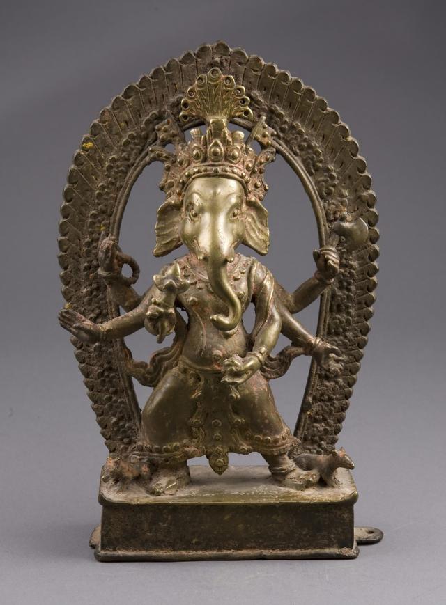 画像: シカゴ美術館に展示されている「ガネーシャ」の像。