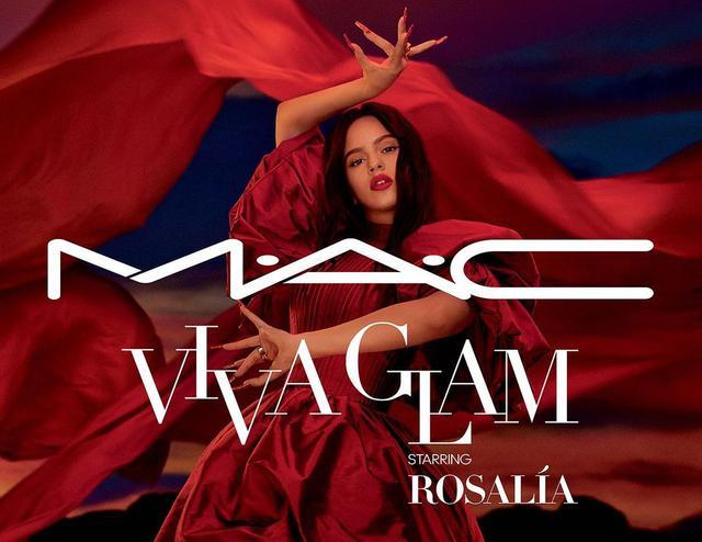 画像: トレードマークである情熱的な赤リップで、M·A·C Viva Glamのアンバサダーに。