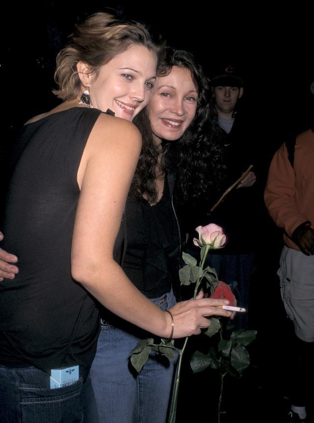画像: 2001年、ジェイドと。
