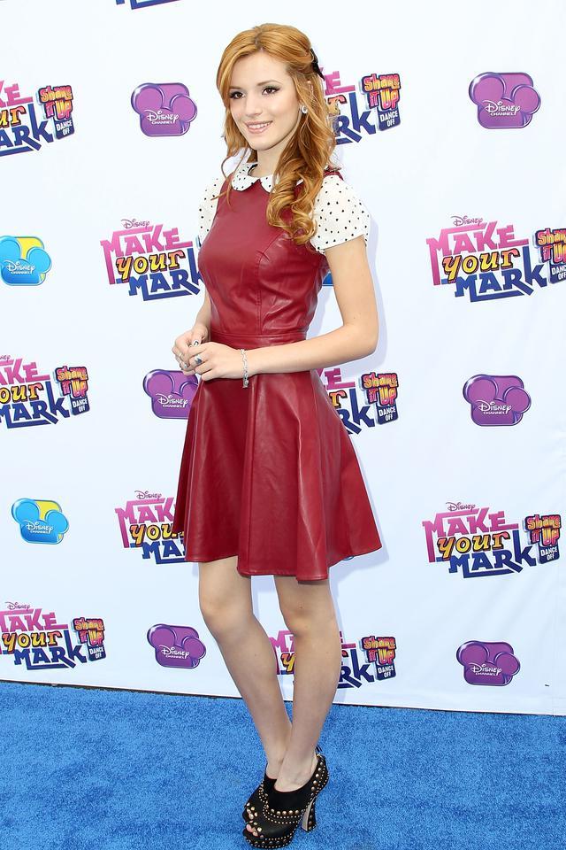 画像: 2012年、ディズニー・チャンネルが企画したダンス大会「Make Your Mark: Shake It Up Dance Off」に出席したベラ。