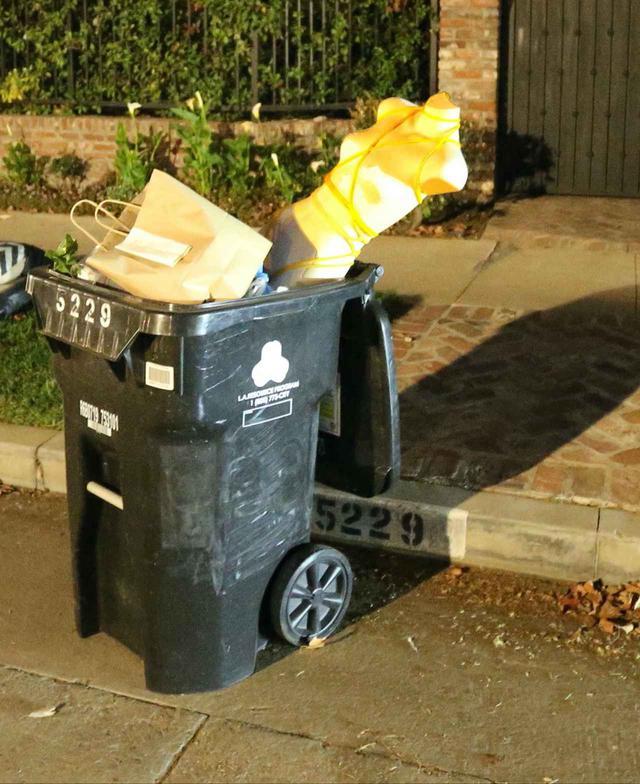 画像2: 自宅前のゴミ箱に「捨てられてたもの」に注目が集まる