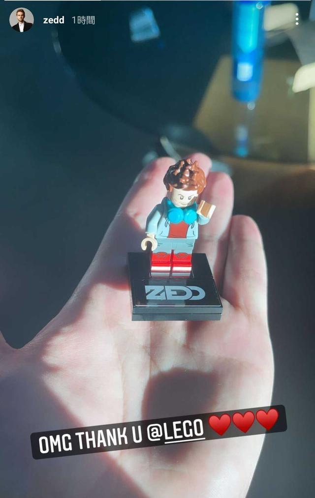 画像2: ゼッドがオリジナルのレゴをゲット