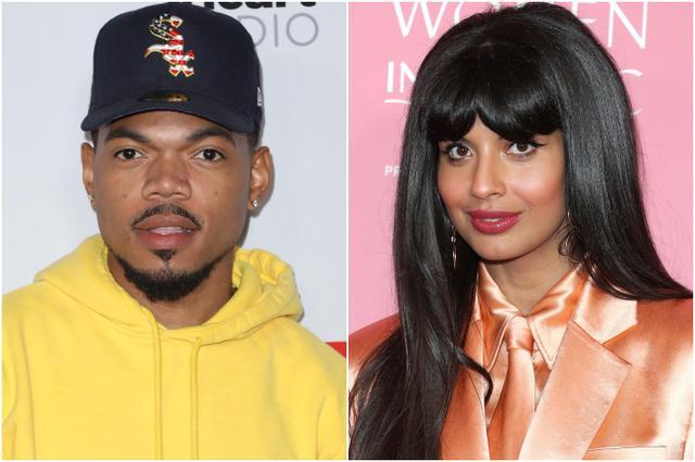 画像: 左:チャンス・ザ・ラッパー、右:ジャミーラ・ジャミル