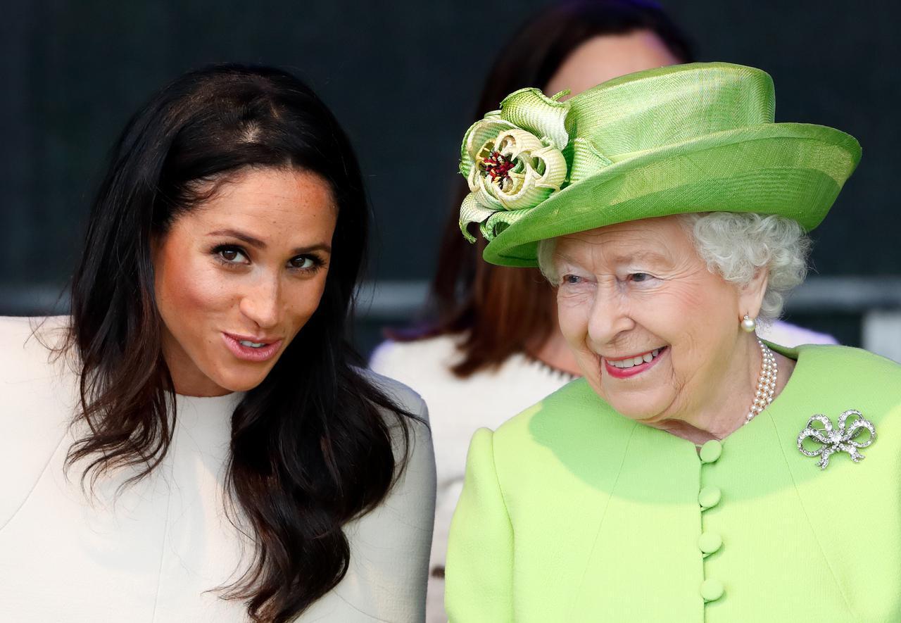 画像: エリザベス女王との関係は良好