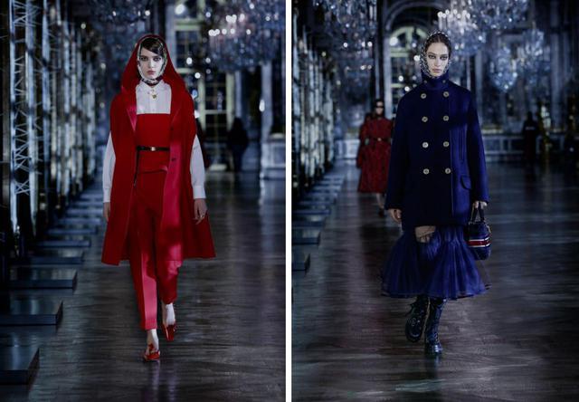 画像5: ディオールの最新コレクションはヴェルサイユ宮殿で
