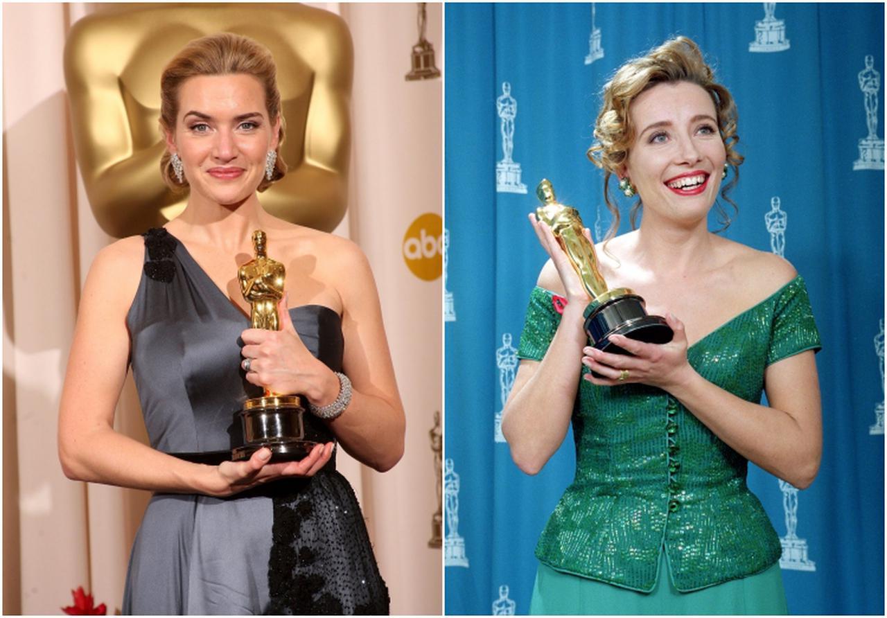 画像: 左:ケイト・ウィンスレット、右:エマ・トンプソン
