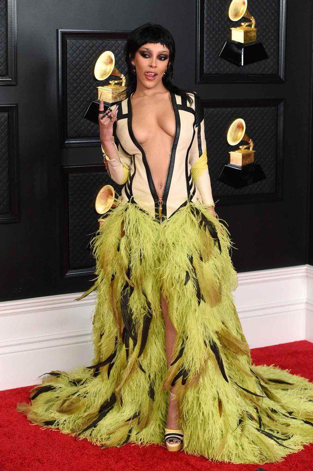 画像2: 第63回グラミー賞授賞式でセレブたちは何を着た?