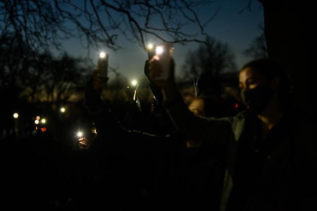 画像: 3月14日にロンドンで行なわれたデモ。