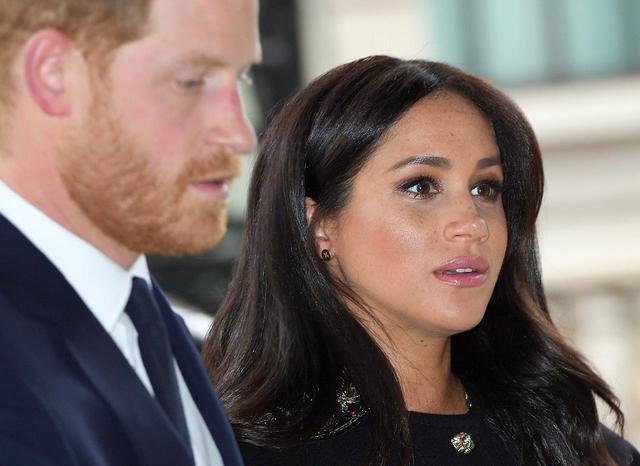 """画像: 英王室がメーガン妃による""""いじめ疑惑""""に新たに声明を出す"""