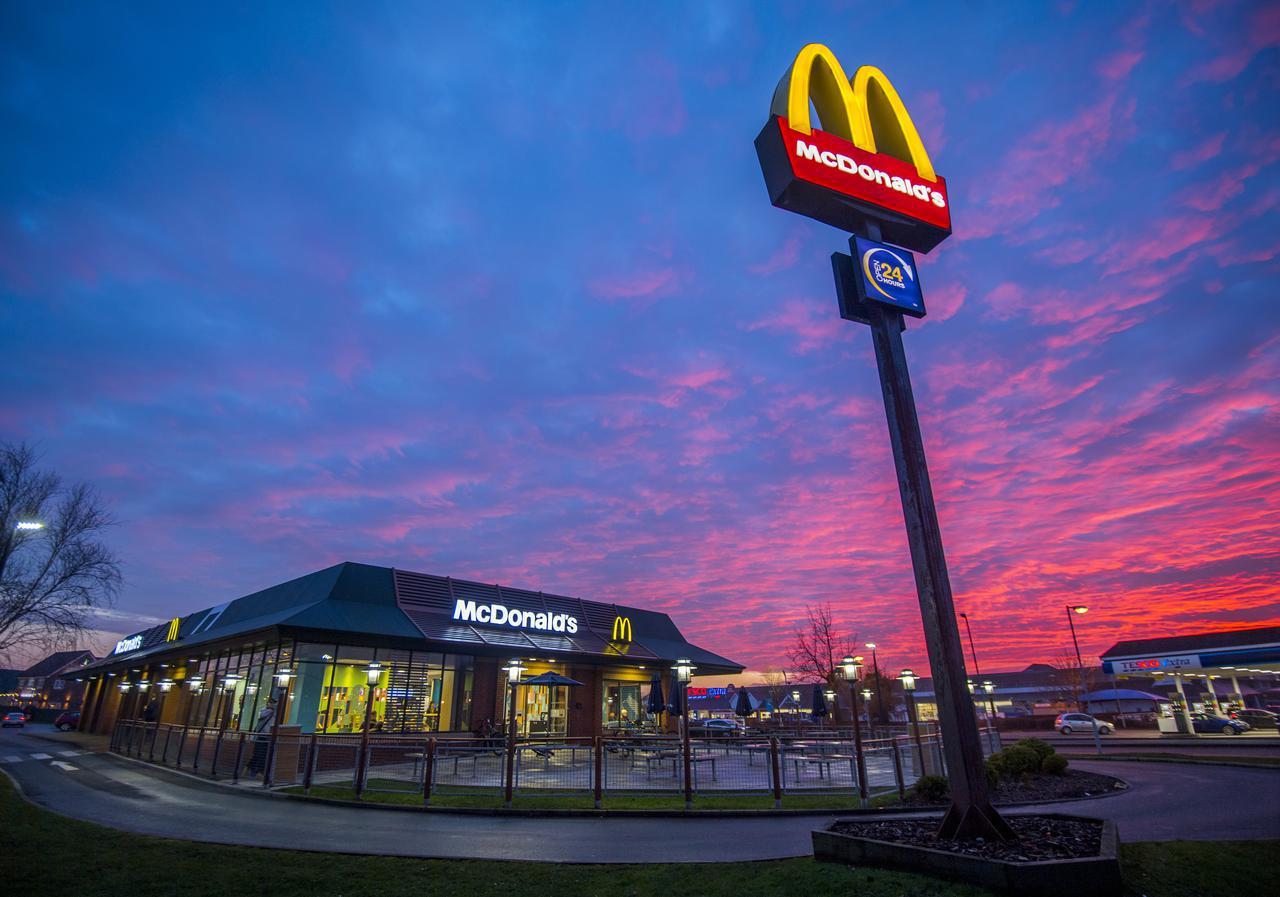 画像: マクドナルドの冷凍庫から出てきたのは…