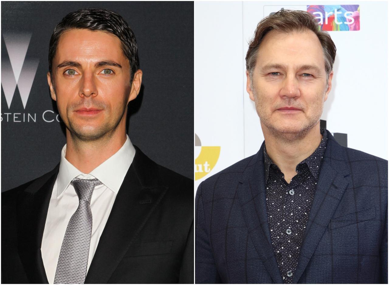 画像: 左:マシュー・グッド、右:デビッド・モリシ―