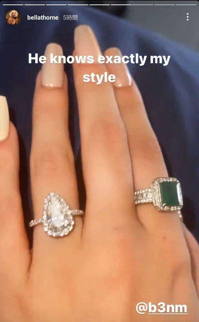 画像2: ベラ・ソーンがついに婚約