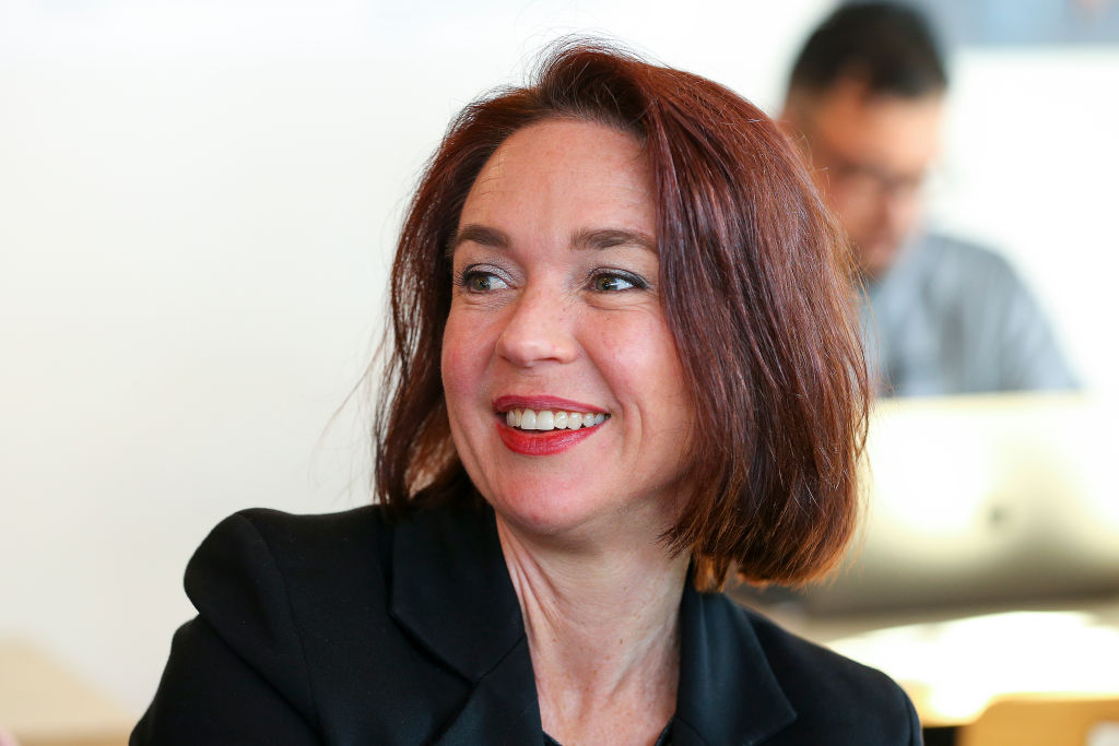 画像: ニュージーランド労働党のジニー・アンダーセン議員