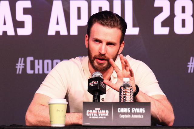 画像: キャプテン・アメリカ役を引退したクリス・エヴァンス