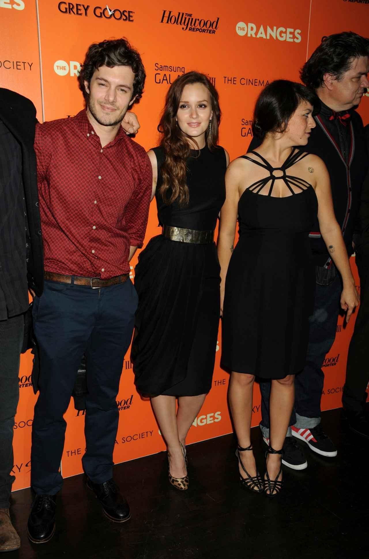 画像: 2012年9月に行なわれた映画『The Oranges』の上映会にて。