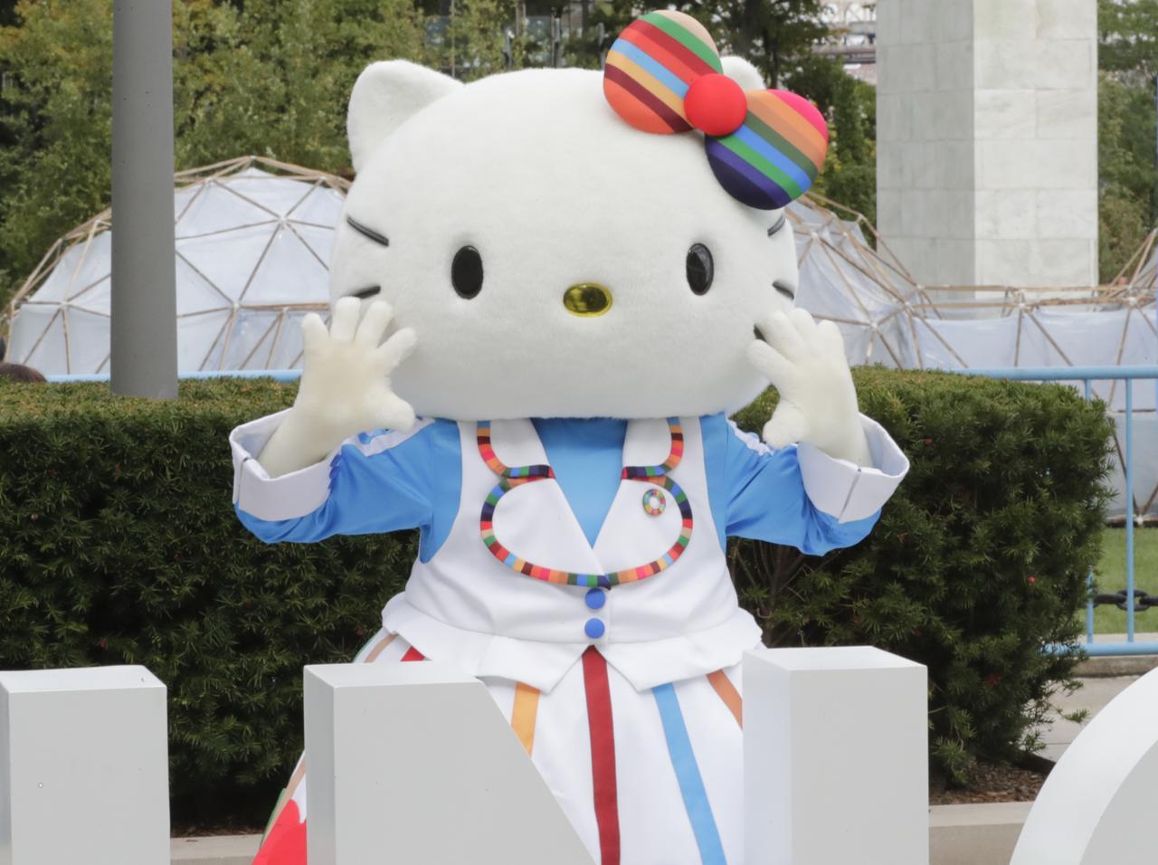 画像: 日本を代表するキャラ、ハローキティのコラボコスメ