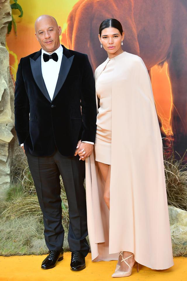 画像: ヴィン・ディーゼルと妻のパロマ・ジメンネズ。