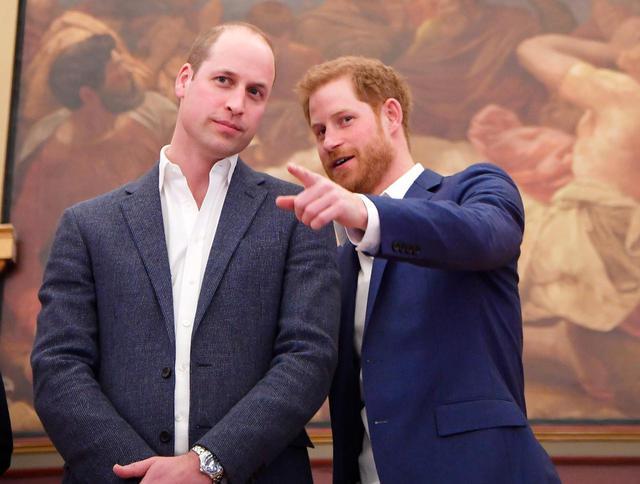 画像: ウィリアム王子とヘンリー王子の再会に注目が集まる