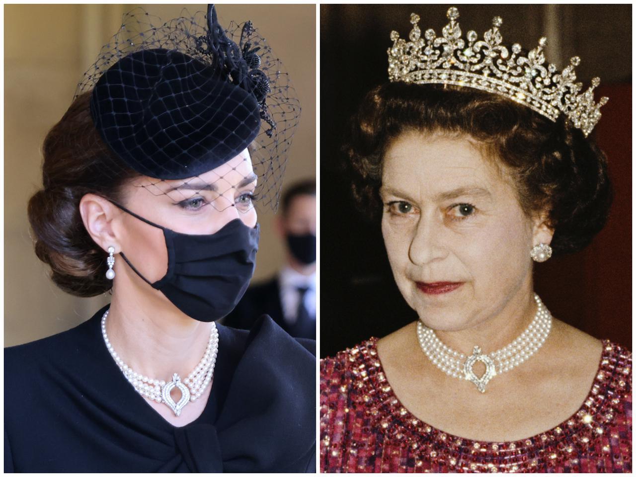 画像1: キャサリン妃がつけていたパールのネックレスはじつは…