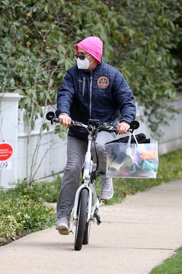画像3: ロバート・ダウニー・Jr.がサイクリングにお出かけ