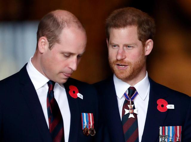 画像: ヘンリー王子とウィリアム王子は「あの時」何を話していた?会話の一部内容が明らかに - フロントロウ -海外セレブ情報を発信