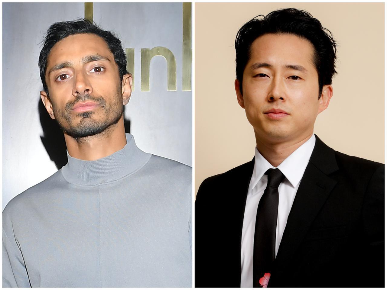 画像: リズ・アーメッド(左)は『サウンド・オブ・メタル 〜聞こえるということ〜』、スティーブン・ユアン(右)は『ミナリ』でそれぞれ主演男優賞にノミネート。