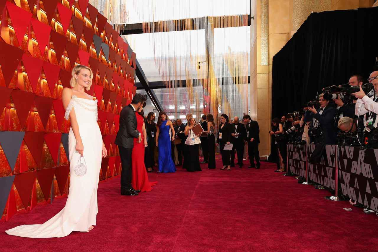 画像: 第90回アカデミー賞授賞式のレッドカーペット。