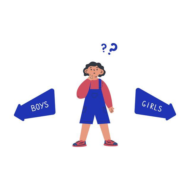 画像: ジェンダーのステレオタイプは幼少期に形成される