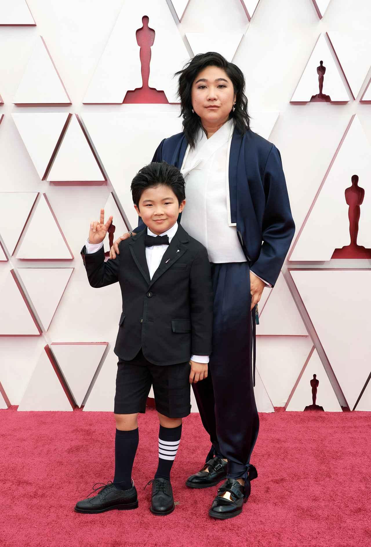 画像: アラン・キムが第93回アカデミー賞授賞式に出席