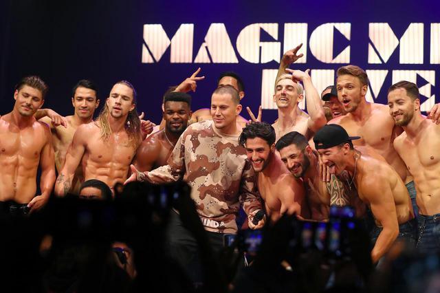 画像: 2019年、オーストラリアで開催された『マジック・マイク』のライブ公演にて。