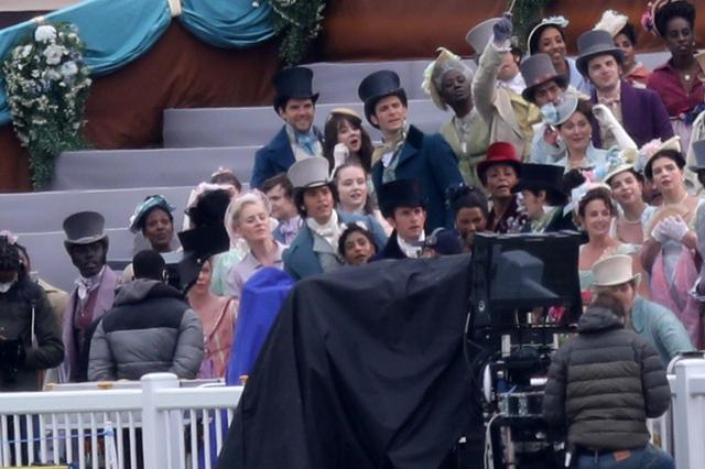 画像5: 『ブリジャートン家』新シーズンの撮影開始