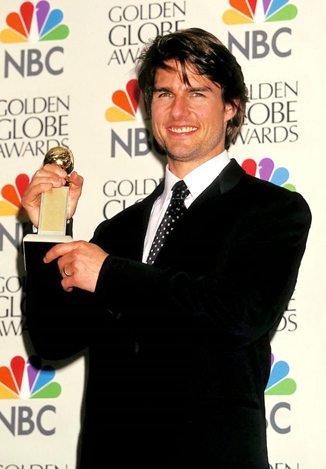 画像: 『ザ・エージェント』で主演男優賞を受賞した1997年のゴールデン・グローブ賞授賞式のプレスルームにて。