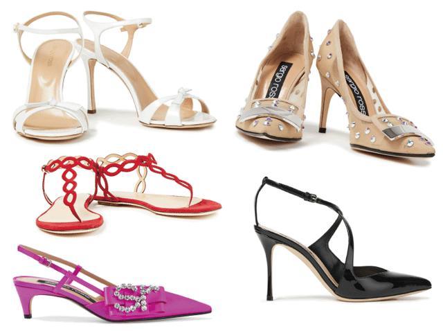 画像2: 美脚に魅せるセレブの勝負靴!セルジオ・ロッシ