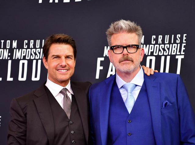 画像: 主演のトム・クルーズと監督のクリストファー・マッカリー。