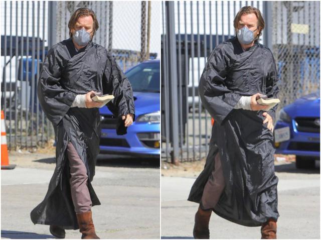 画像: ユアン・マクレガー、オビ=ワン・ケノービの衣装が目撃される! - フロントロウ -海外セレブ情報を発信